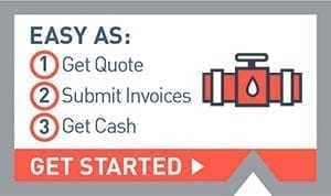 Utility & Pipeline contractor - accounts receivable financing and invoice factoring