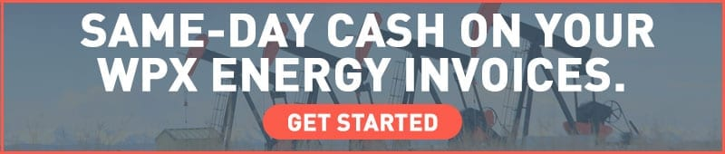 factoring invoices for WPX Energy