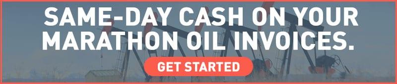 factor marathon oil invoices