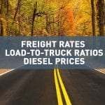 October 2018 freight rates