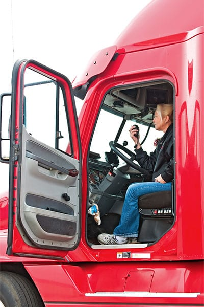 Recruiting truck drivers means thinking outside the box.